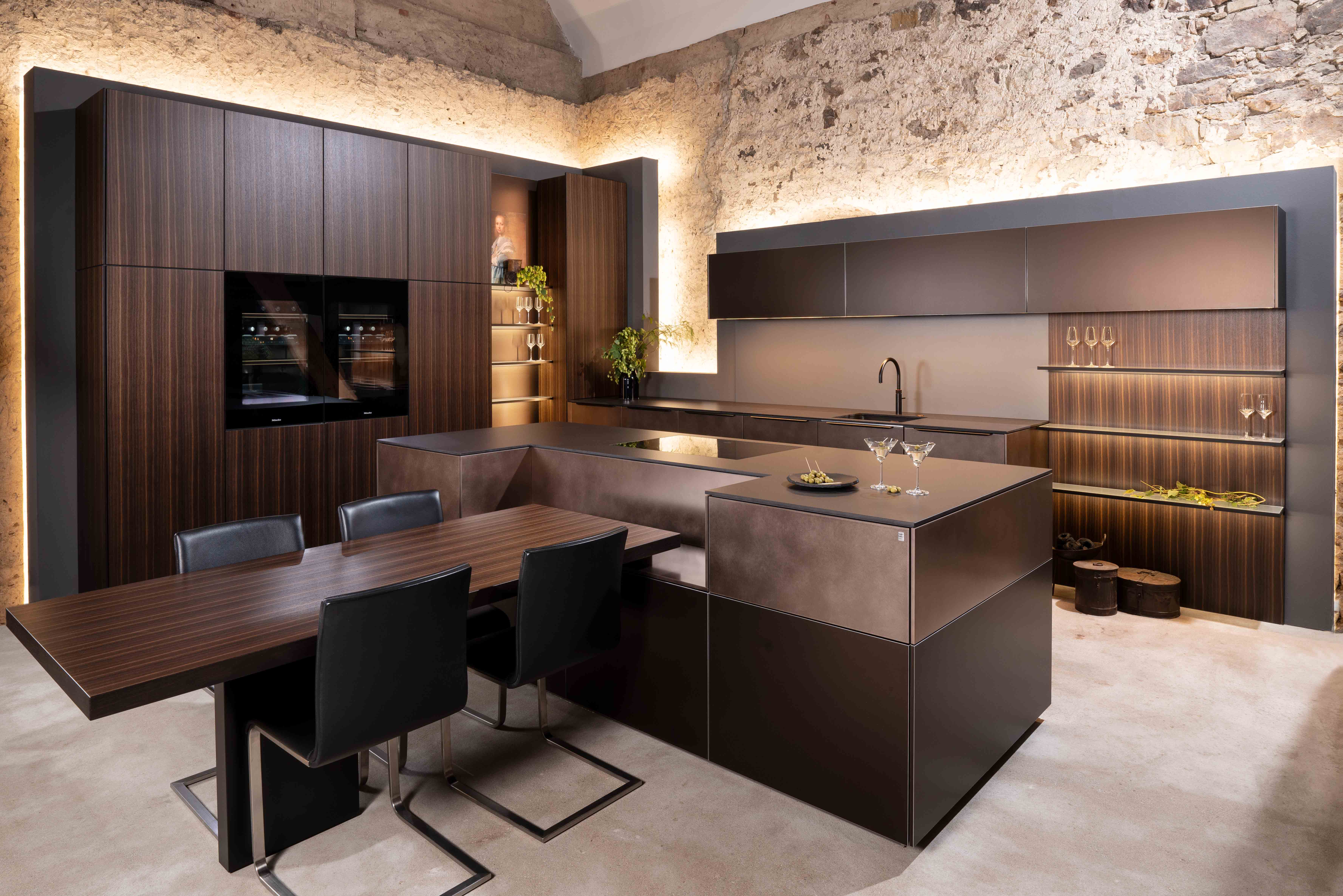 New Warendorf Club K Milieu Kitchen at Sheths Interiors